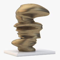 Level Head Sculpture by Tony Cragg