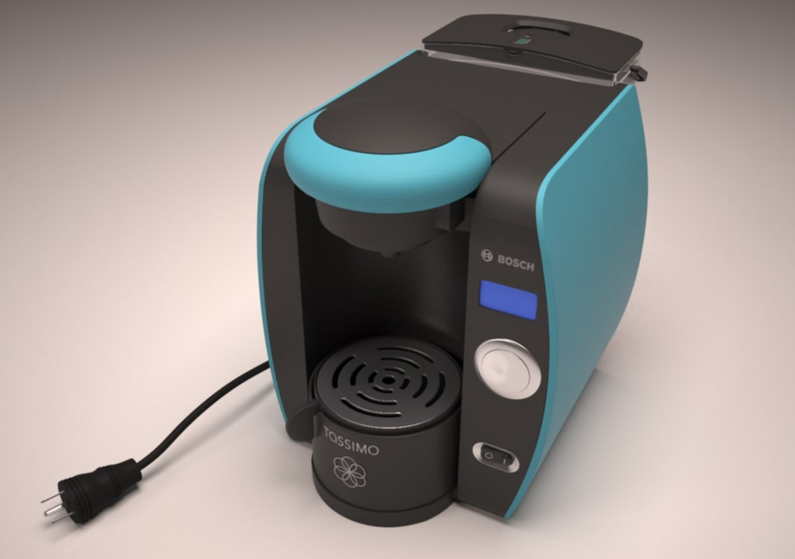 tassimo coffeemaker 3d model