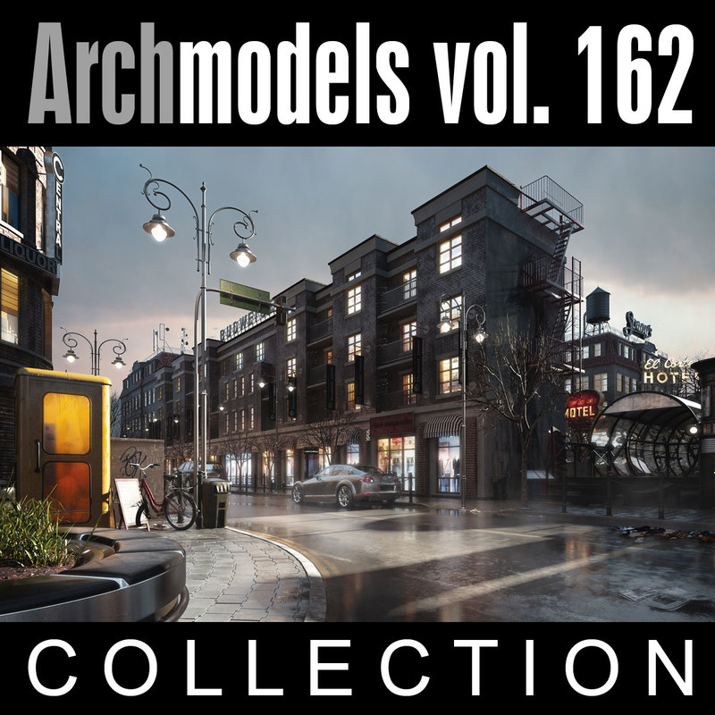3d model archmodels vol 162