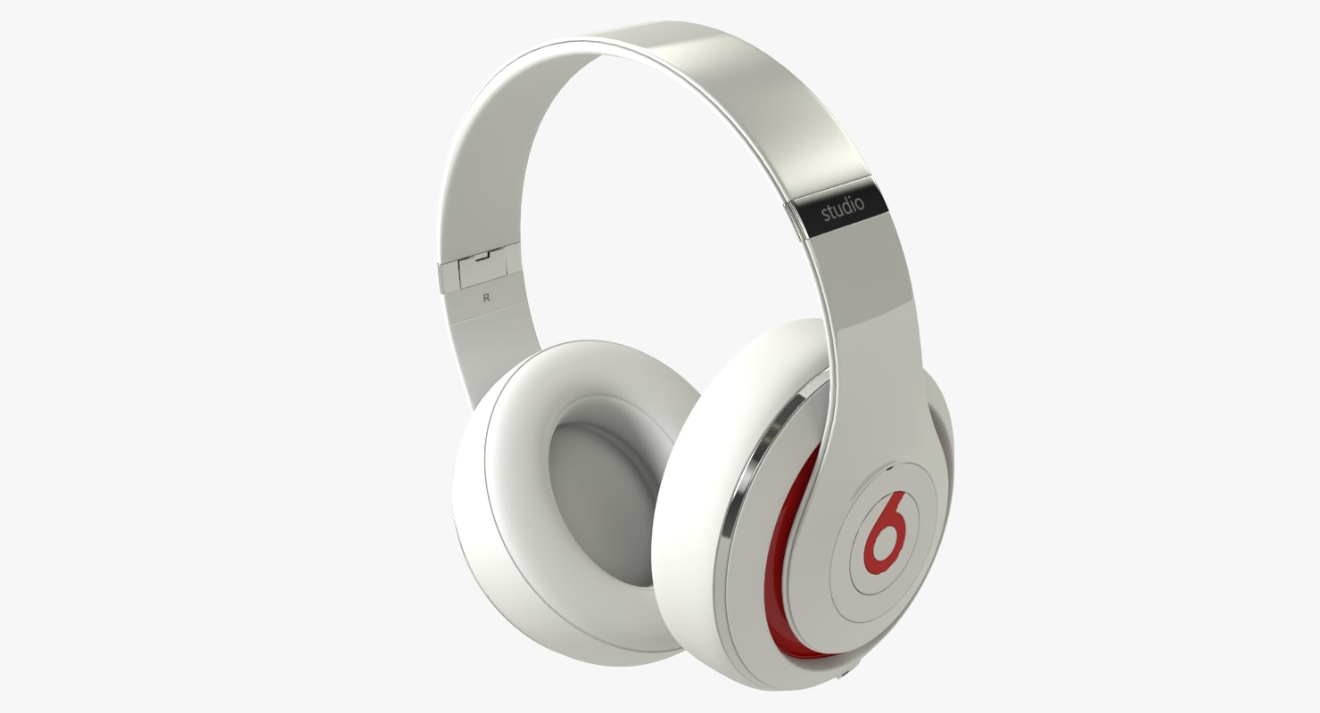 beats studio 2 3d max