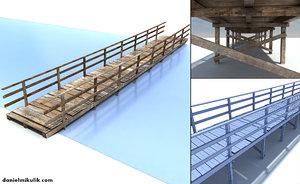 max old wooden bridge