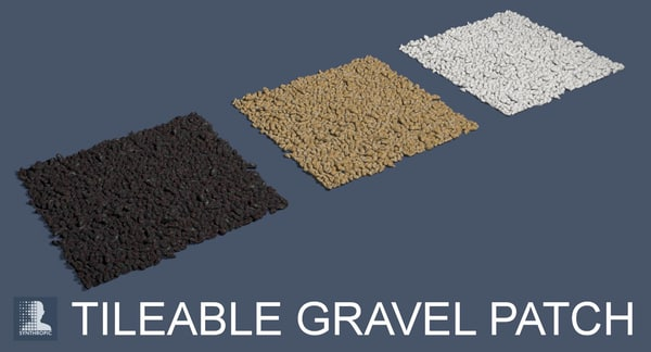 3d patch gravel model