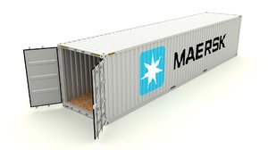 shipping container obj