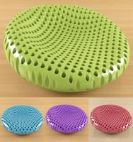 lounge chair boconcept 3d model