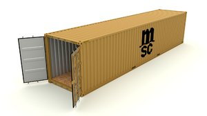 shipping container fbx