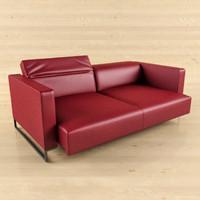 sofa cassina 3d model
