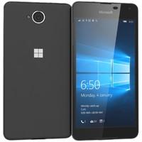 microsoft lumia 650 black 3d x