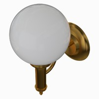 obj wall lamp sconce light