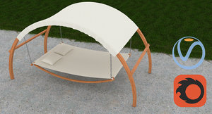 3d max outdoor bed