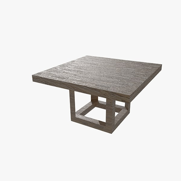 dining table 3ds