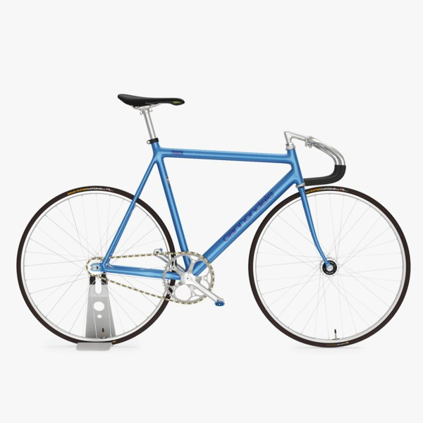 cannondale track fixed gear 3d max