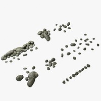 rock ground 3d model