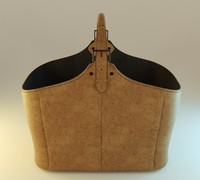 bag leather fbx