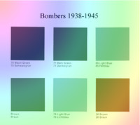 Luftwaffe WW2 Paint Chips