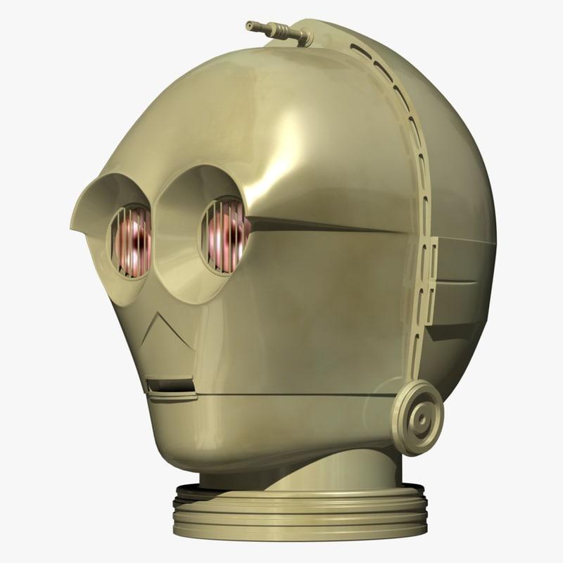3d droid star wars model
