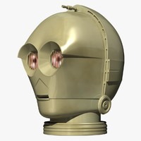 3d droid star wars model
