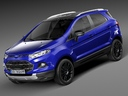 Ford EcoSport 3D models