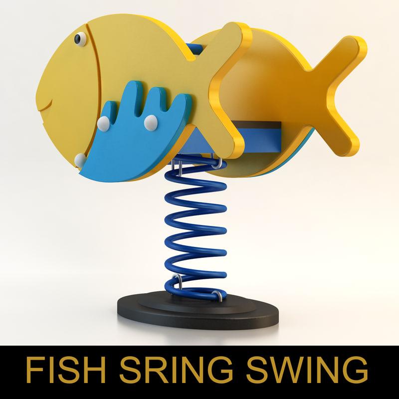 max spring swing playground child