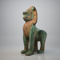 Thai Lion Sculpture