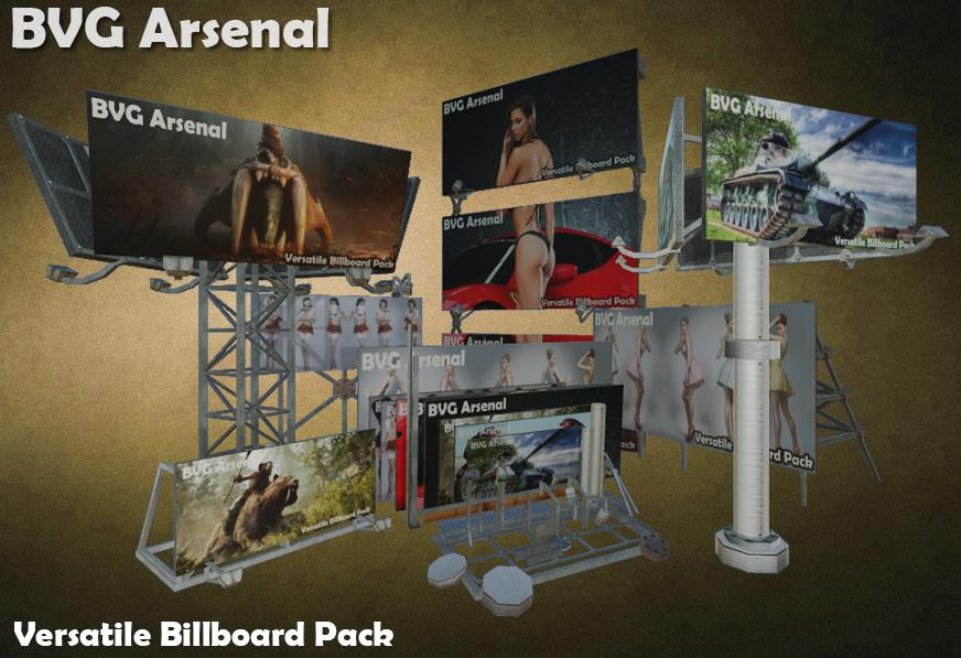 versatile billboard pack ma
