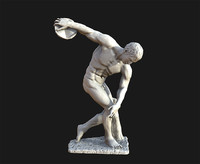 3d model discobolus