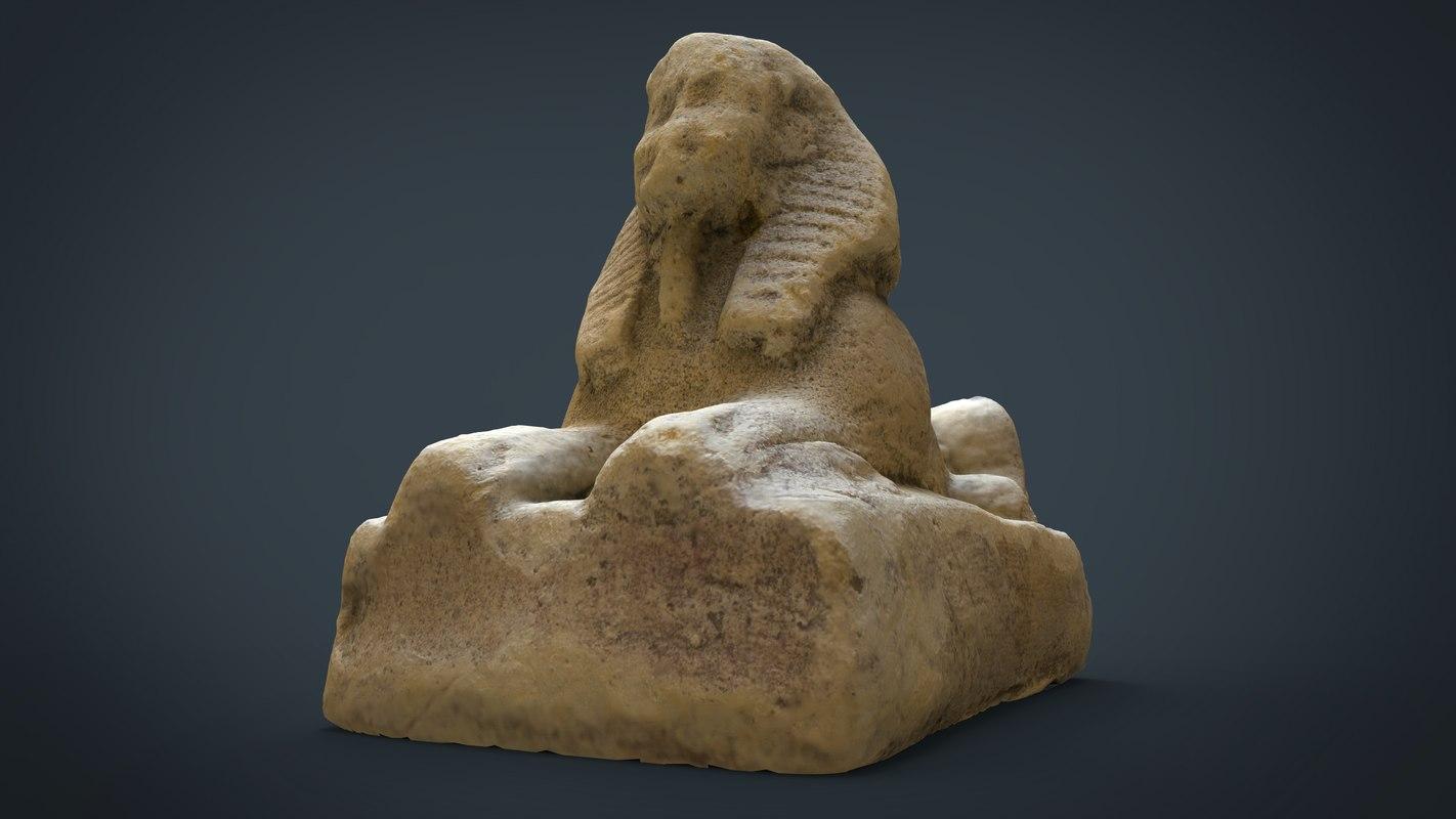 3d model sphinx