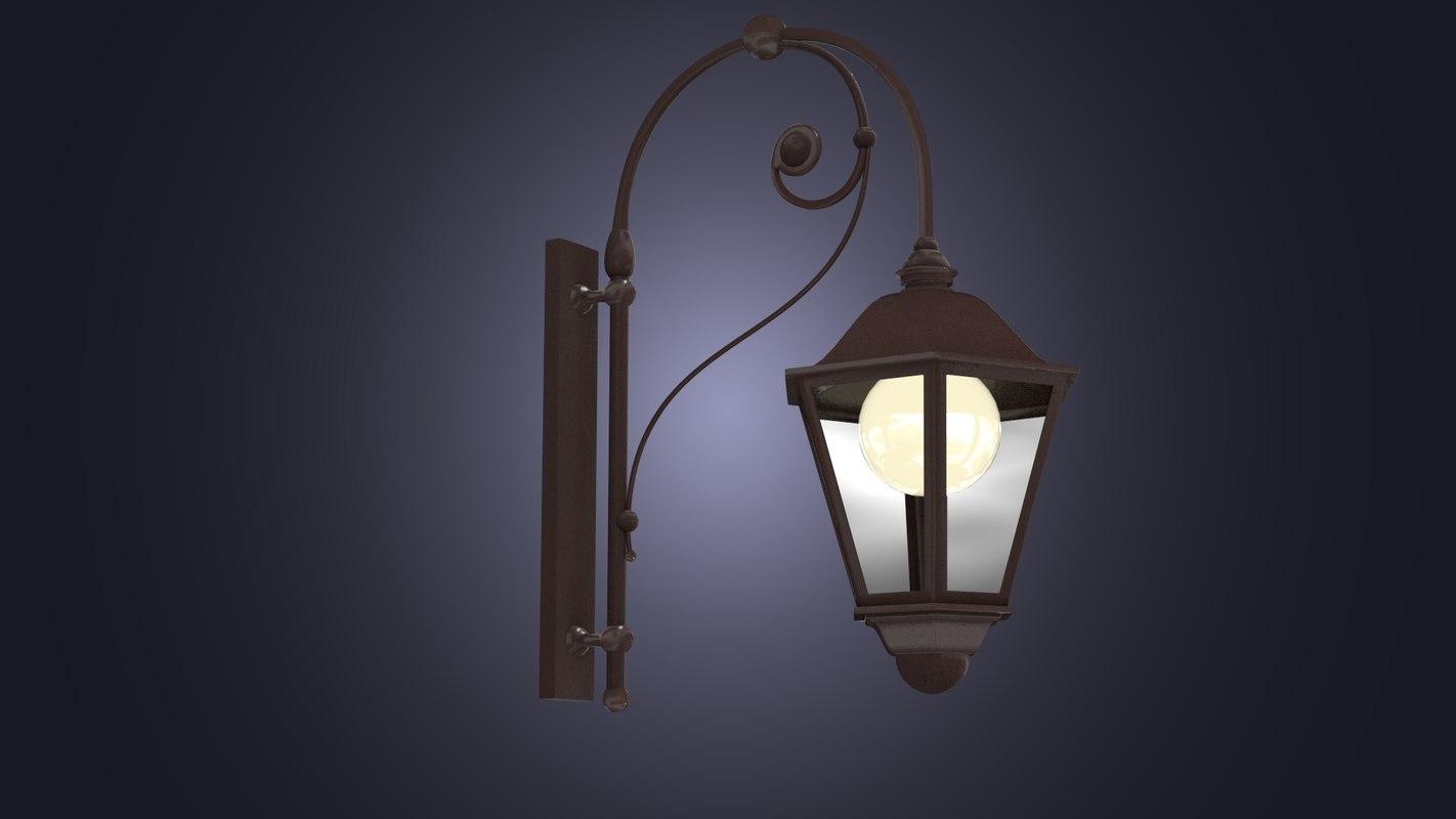 street lantern 3d model