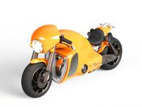 3d obj c-01 motorcycle concept -