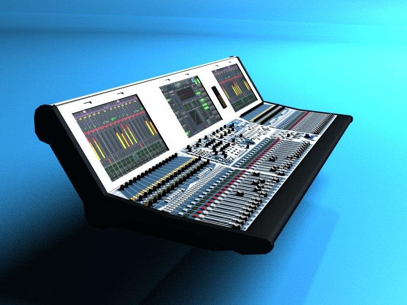 3d max mixing lawo mc2-56