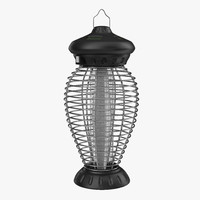 outdoor bug zapper 2 3d model