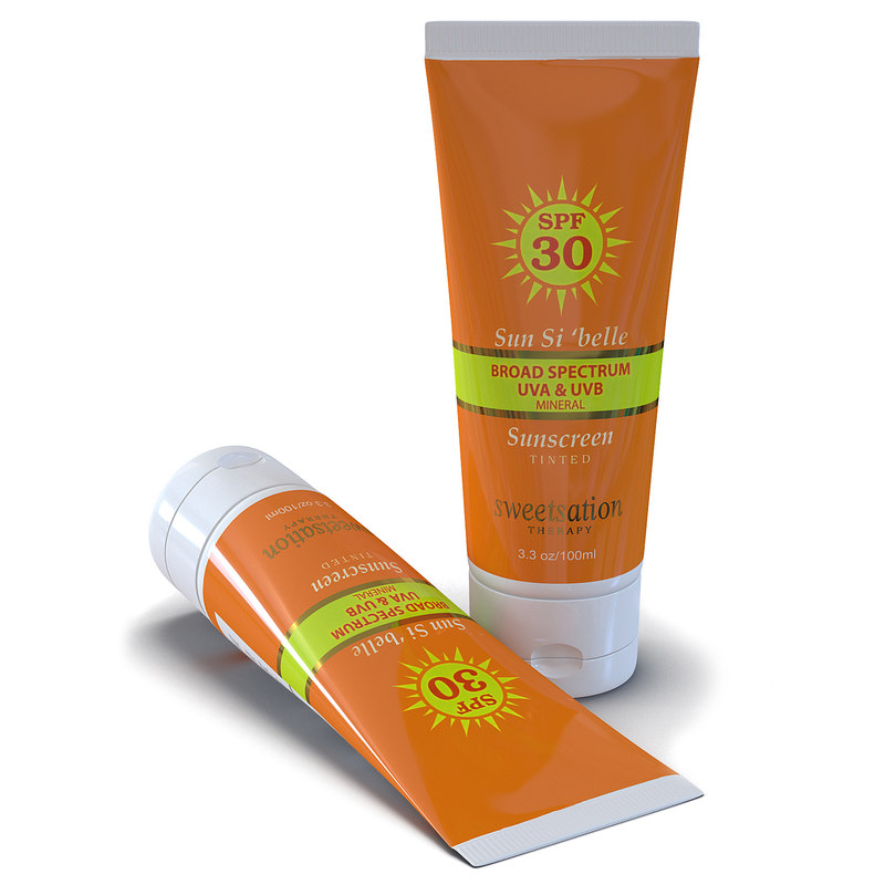 sunscreen tube 3d 3ds