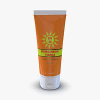 Sunscreen Tube Generic