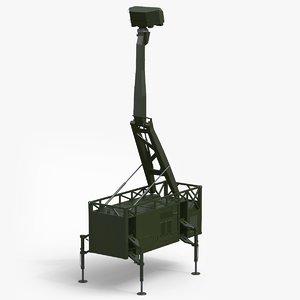 giraffe amb radar 3d max