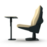 Conference chair ERASMUS without armrests