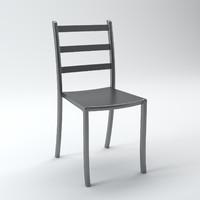 acrylic chair 3d max