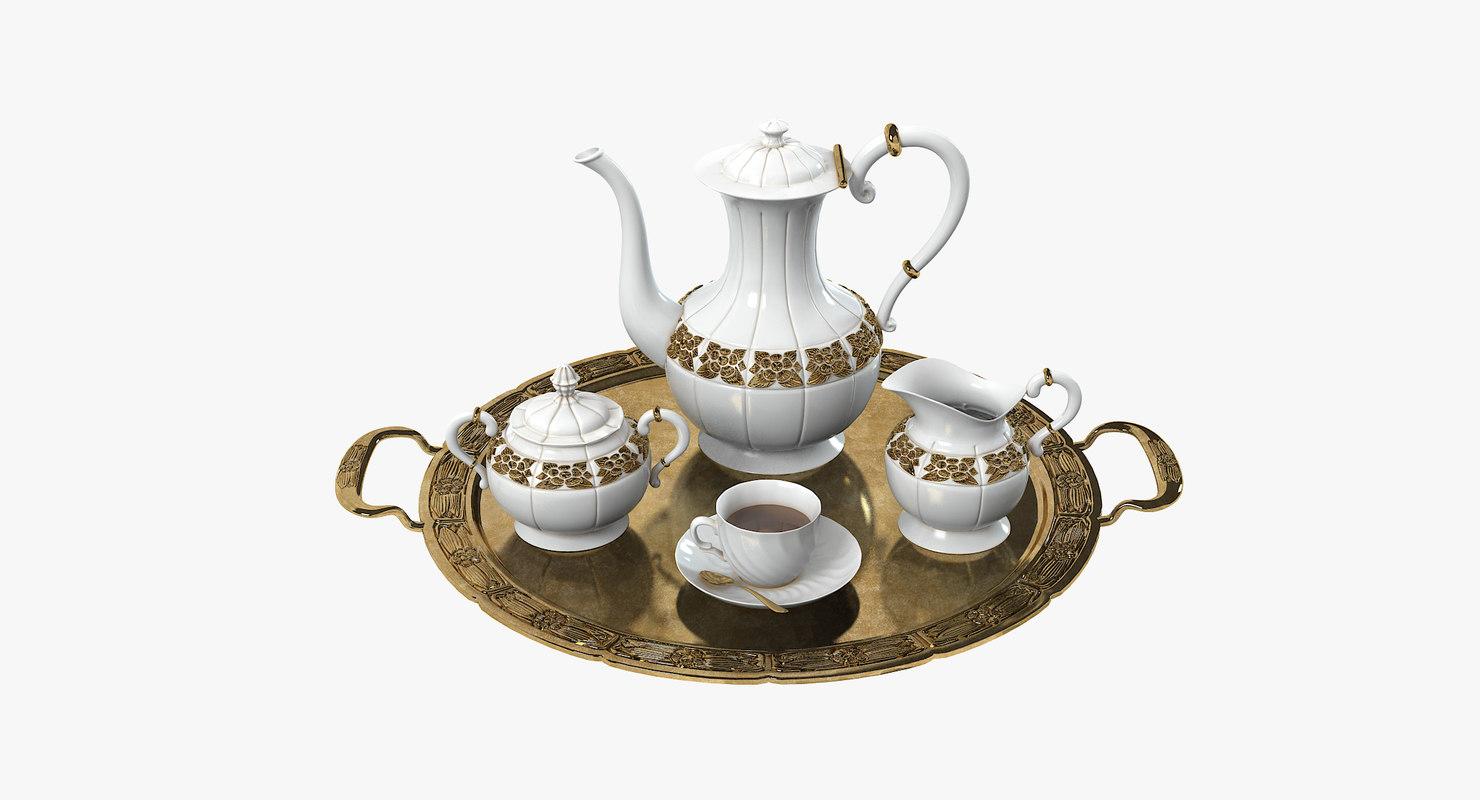 golden coffee set max