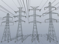Electric power tower COLLECTION