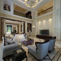 interior villa classic 3d max
