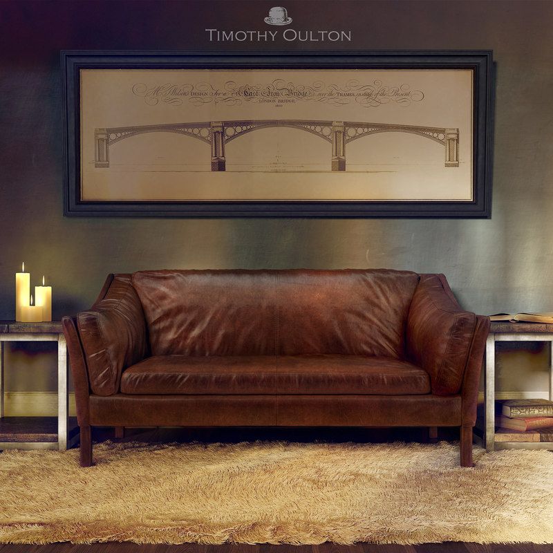 sofa timothy oulton reggio 3d max