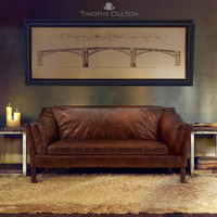 Reggio High Back Sofa, Timothy Oulton