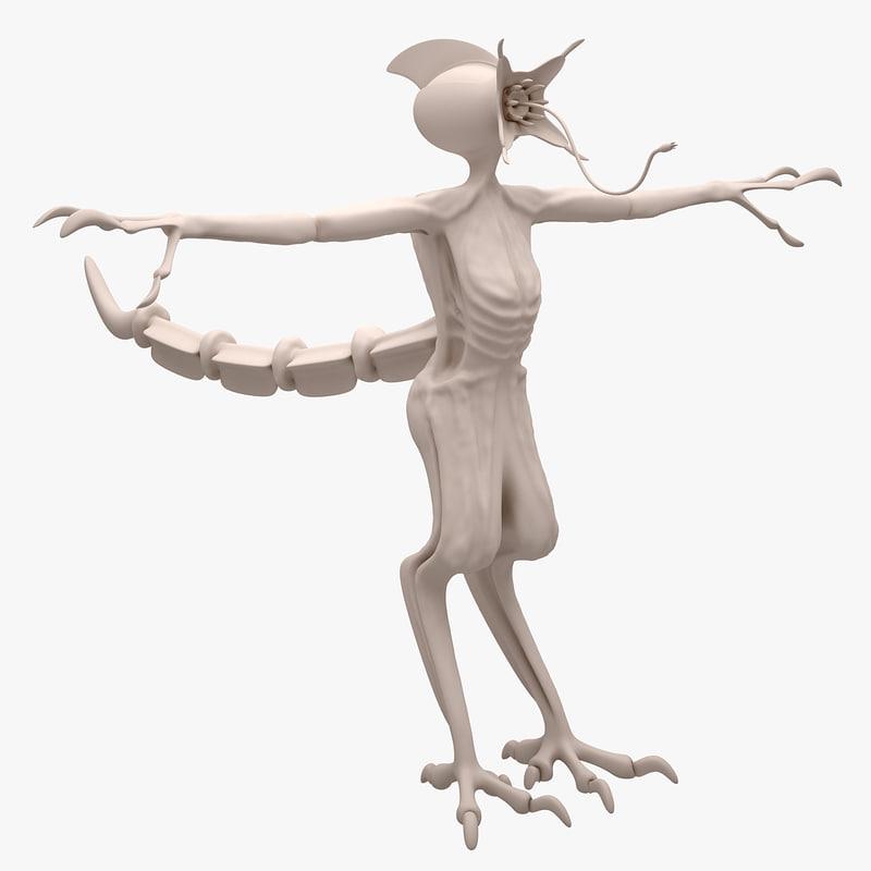 3d alien concept 2016