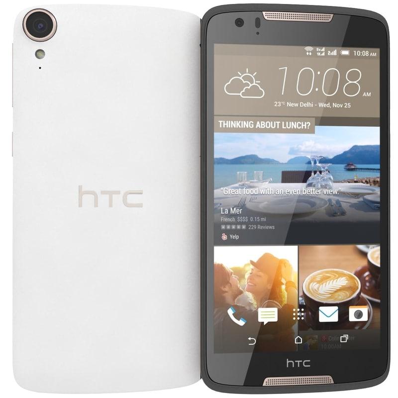 htc desire 828 dual 3d model