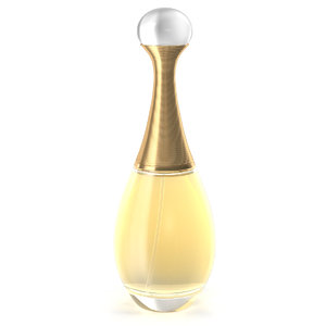 dior perfume 3d 3ds
