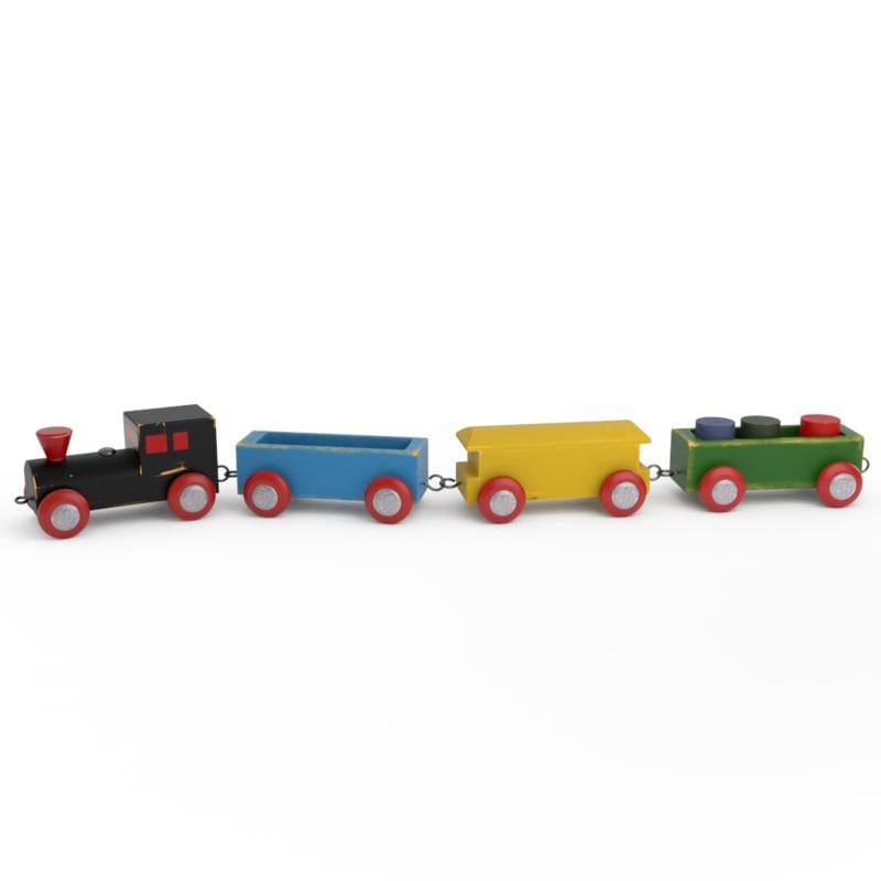 3d brio train model