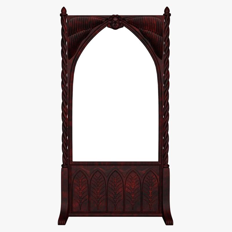 antique mirror 3d max