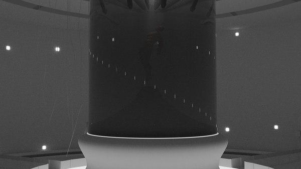 lab sci-fi obj