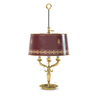 bagues 18058 table lamp 3d model