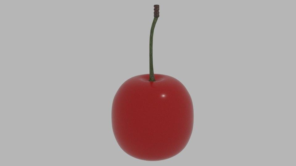 3d cherry ready