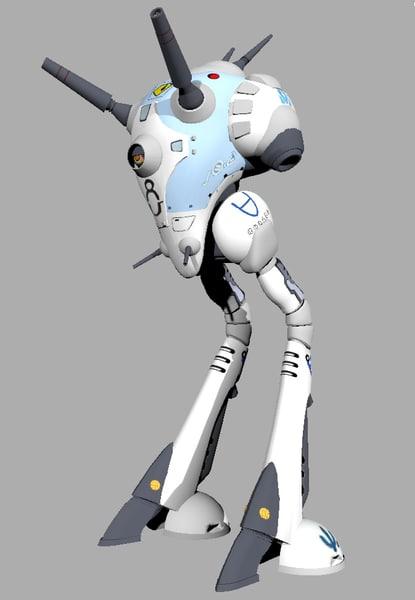 battle pod reguld 3d model