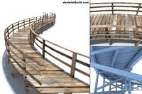 3d 3ds old bridge